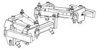 Barre porte outils externe hydraulique EGRETIER