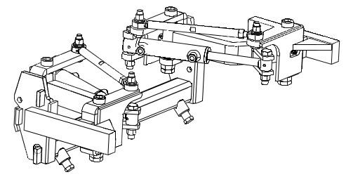 Barre porte-outils externe hydraulique EGRETIER