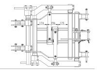 Cade CV Tous Terrains EGRETIER, plan horizontal pour tracteur interligne