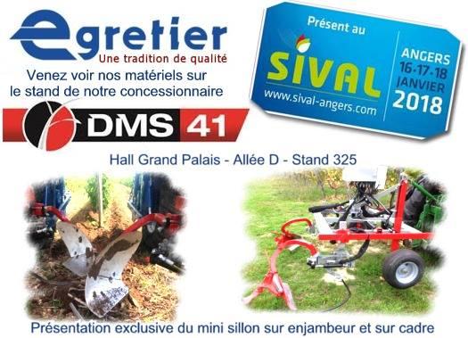 Affiche pour SIVAL Angers 2018 avec DMS 41