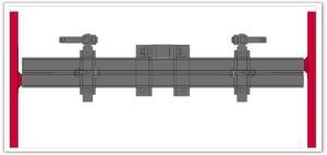 Barre porte-outils extension mécanique BSEM EGRETIER