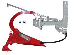 Porte-interceps Mécanique EGRETIER équipé d'une décavaillonneuse et d'un cure-ceps EGRETIER